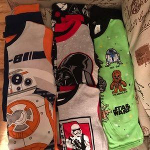 🎉BUNDLE🎉 Set of 3 Boys Star Wars Pajamas Pjs